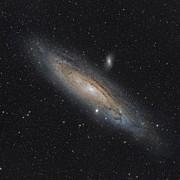 M31 Framed Prints - The Andromeda Galaxy Framed Print by Rolf Geissinger