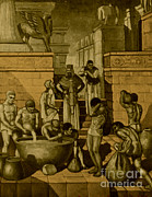 Babylon Metal Prints - The Art Of Brewing, Babylon Metal Print by Science Source
