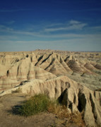Photo Calendars Framed Prints - The Badlands Framed Print by Brent Parks