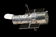 Outer Space Photos - The Hubble Space Telescope by Stocktrek Images