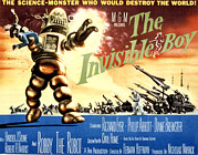 Robby The Robot Framed Prints - The Invisible Boy, Robby The Robot Framed Print by Everett