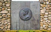 Cape Kennedy Art - The John F. Kennedy Memorial at Veterans Memorial Park in Hyanni by Matt Suess