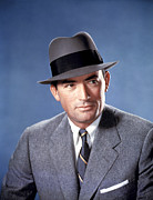 1950s Portraits Photos - The Man In The Gray Flannel Suit by Everett