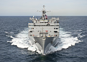 Usns Supply Posters - The Military Sealift Command Fast Poster by Stocktrek Images