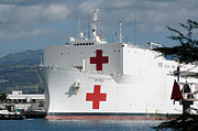Mercy Art - The Military Sealift Command Hospital by Stocktrek Images