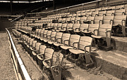 Stadium Seats Art - The Old Ballpark by Frank Romeo