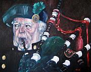 Scottish Originals - The Piper by Kevin McKrell