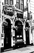 Hanging Baskets Framed Prints - The Ship Pub London  Framed Print by David Pyatt