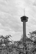 Tower Of The Americas Photos - The Tower of the Americas by Sarah Broadmeadow-Thomas