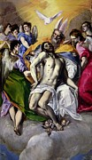 The Heavens Paintings - The Trinity by El Greco