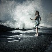 Child Photos - The Wave by Joana Kruse
