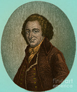 Rights Of Man Metal Prints - Thomas Paine, American Patriot Metal Print by Photo Researchers