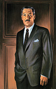 Thurgood Prints - Thurgood Marshall Print by Granger