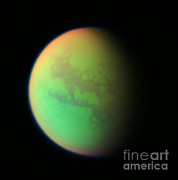 Planets Art - Titan, Cassini Image by NASA / Science Source
