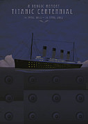 Catastrophe Digital Art - Titanic centennial by Stephane Le Blan