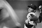 New York Mets Stadium Photo Prints - Tom Seaver (1944- ) Print by Granger