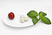 Lettuce Photos - Tomato Mozzarella by Joana Kruse