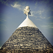 Stone Roof Framed Prints - Trullo Framed Print by Joana Kruse