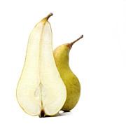 Two Pears Print by Bernard Jaubert