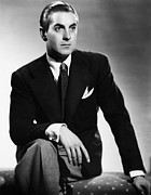 Pocket Square Prints - Tyrone Power, Ca. Early 1940s Print by Everett