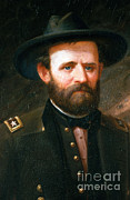 General Ulysses Grant Framed Prints - Ulysses S. Grant, 18th American Framed Print by Photo Researchers