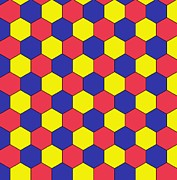 Hexagons Photos - Uniform Tiling Pattern by