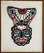 Traditional Tapestries - Textiles Framed Prints - Unknown Framed Print by Vivian Callaghan