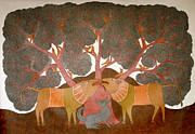 Gond Paintings - Untitled by Bhajju Shyam