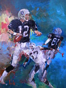 Sports Art Painting Originals - Untitled by Carlos Ostos