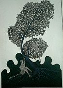Gond Paintings - Untitled by Mayank Shyam