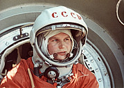 Manned Space Flight Art - Valentina Tereshkova by Ria Novosti