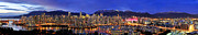 Skyline Photos - Vancouver Skyline Panorama by Wesley Allen Shaw