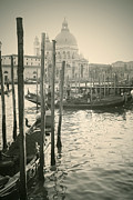Gondolier Photo Framed Prints - Venezia Framed Print by Joana Kruse