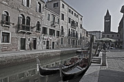 Peaceful Scene Art - Venice - Italy by Joana Kruse