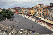 Old Town Square Prints - Verona Print by Joana Kruse