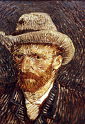 Self-portrait Photo Prints - Vincent Van Gogh Print by Granger