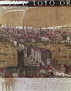 River View Framed Prints - Visscher: London, 1650 Framed Print by Granger