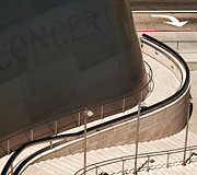 Aurica Voss Metal Prints - Walt Disney Concert Hall Metal Print by Aurica Voss