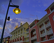 Walt Disney Boardwalk Prints - Walt Disney World - Boardwalk Villas  Print by AK Photography