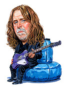 Warren Haynes Posters - Warren Haynes Poster by Art