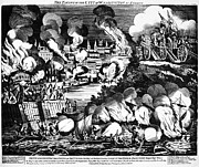 U.s. Army Prints - Washington Burning, 1814 Print by Granger