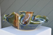 Bowl Ceramics - Wave Bowl by Gibbs Baum