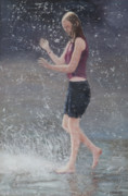 Summer Fun Paintings - Wet by Masami Iida