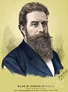 Nobel Prize Winner Prints - Wilhelm Roentgen, German Physicist Print by Science Source