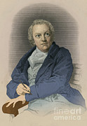 William Blake Art - William Blake, English Poet And Painter by Photo Researchers