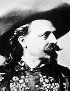 Buffalo Bill Cody Framed Prints - William F. Cody Aka Buffalo Bill Cody Framed Print by Everett