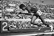 Track And Field Prints - Wilma Rudolph (1940-1994) Print by Granger