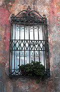 Artistic Landscape Photos Photos - Window in Tuscany by Tom Prendergast