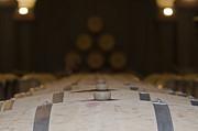 Wine Barrels Print by Mats Silvan