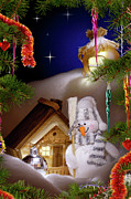 Christmas Holiday Scenery Art - Wonderful Christmas Still Life by Oleksiy Maksymenko